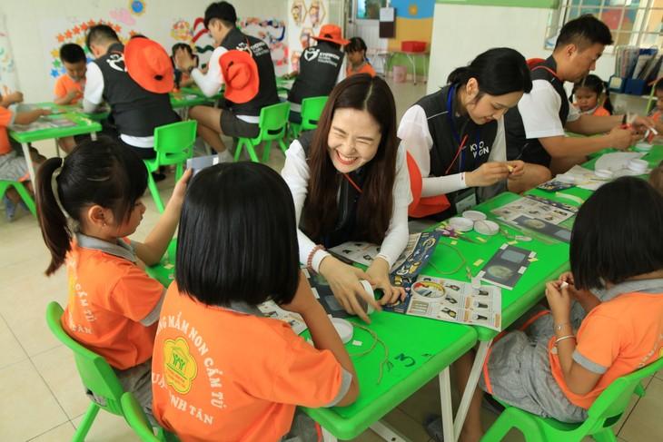 Volunteer program promotes Vietnam-RoK friendship - ảnh 1