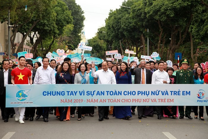 """Safety for women and children"" Year launched - ảnh 1"