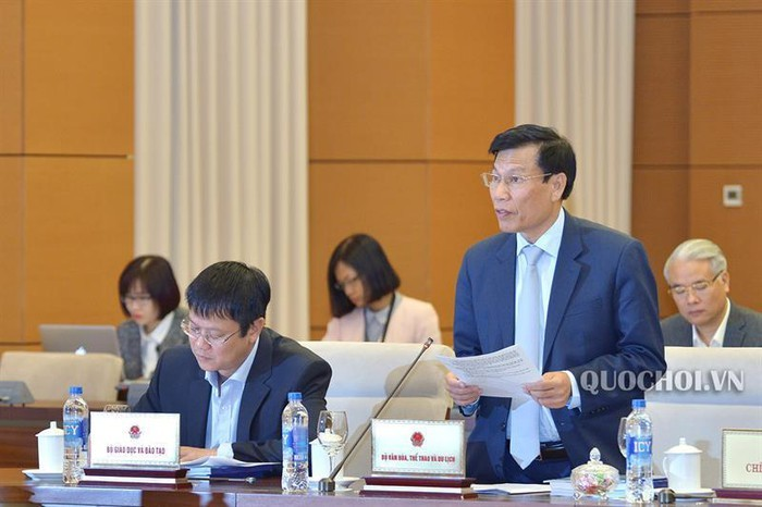 National Assembly Standing Committee discusses Bill on Library  - ảnh 1