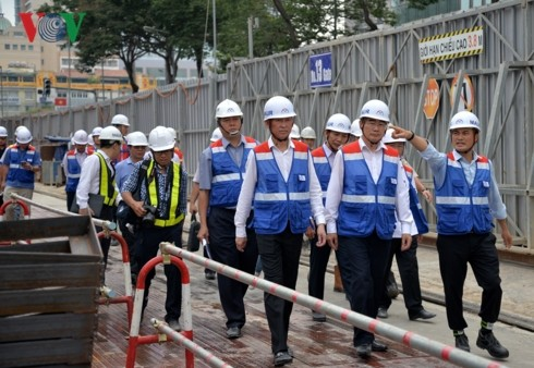 HCMC works to operate metro projects on time - ảnh 1