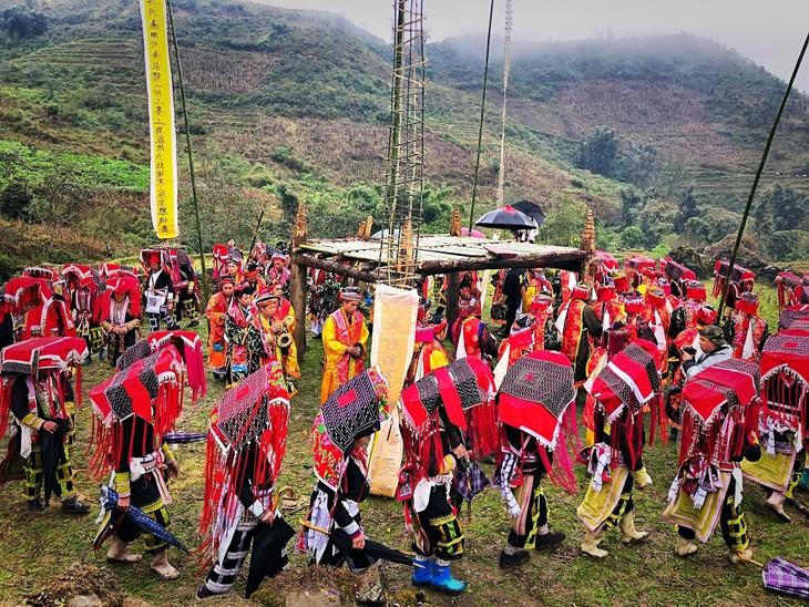 """Maturity"" ritual of Dao ethnic in Lao Cai - ảnh 8"