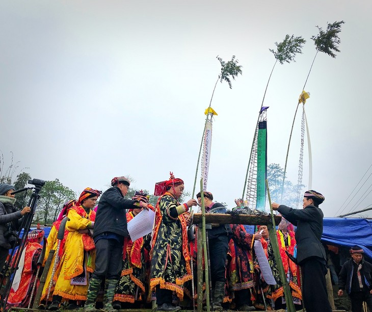 """Maturity"" ritual of Dao ethnic in Lao Cai - ảnh 13"