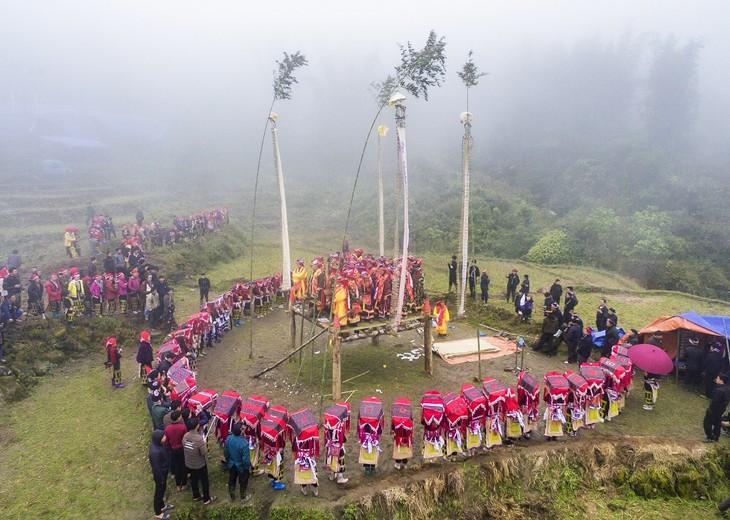 """Maturity"" ritual of Dao ethnic in Lao Cai - ảnh 16"