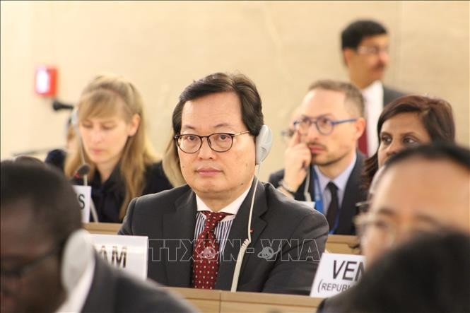 Vietnam actively contributes to HRC 40th session  - ảnh 1