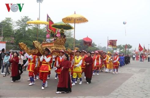 Hung Kings' death anniversary promotes national solidarity, strength  - ảnh 1