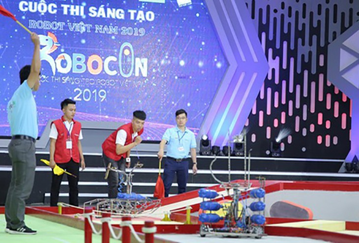 Robocon 2019: simulation of human-like movements - ảnh 1