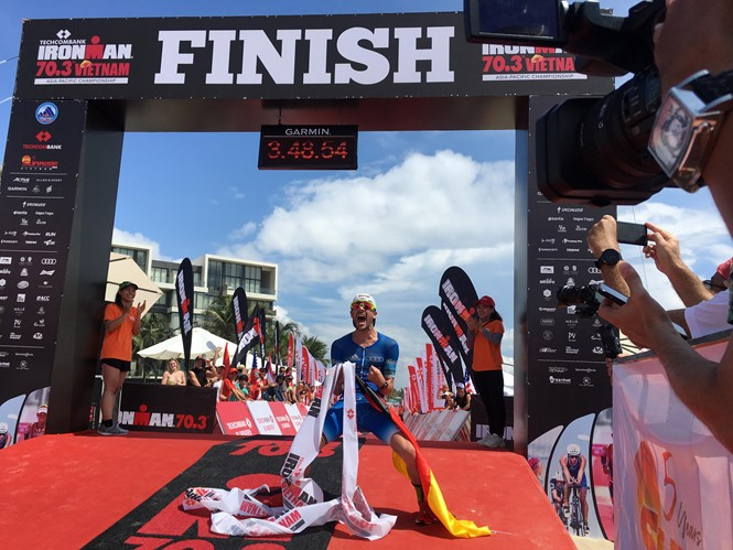 Vietnam hosts Asia-Pacific Ironman 70.3 Championship - ảnh 1