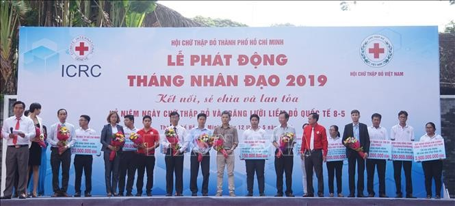 Humanitarian Month launched in Ho Chi Minh City - ảnh 1