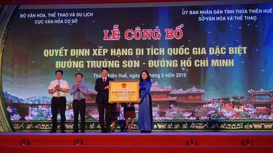 Ho Chi Minh Trail section recognized as Special National Relic Site - ảnh 1
