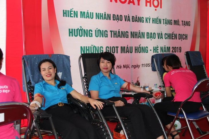 2019 Humanitarian Month widely implemented in Vietnam - ảnh 1