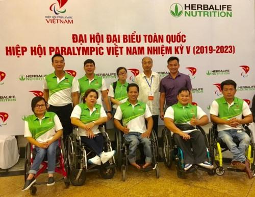 Vietnam Paralympics Association opens its 5th National Congress - ảnh 1
