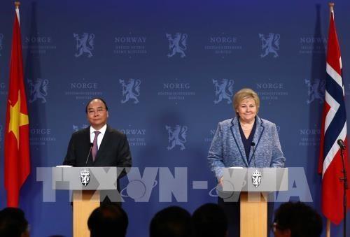 Vietnam, Norway issue joint statement - ảnh 1