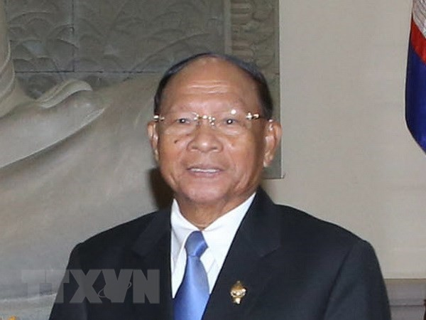 Top Cambodian legislator begins official visit to Vietnam - ảnh 1