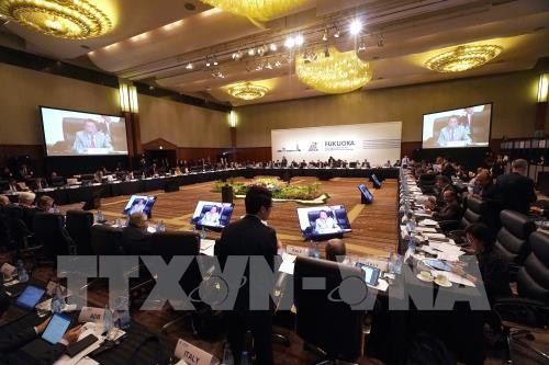 G20 financial leaders point out risks to world economy - ảnh 1