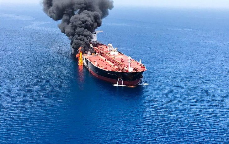 Hightened tensions in Gulf of Oman - ảnh 1