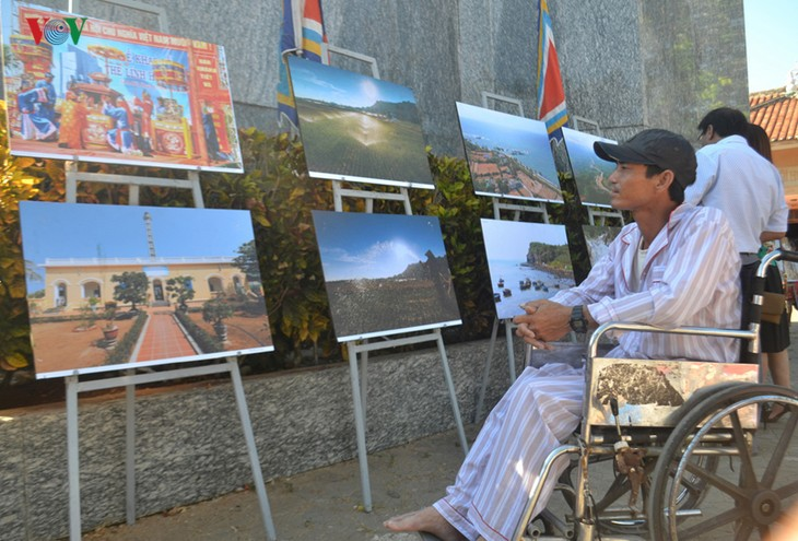 Exhibition on Ly Son Island - festival and geological finest values opens - ảnh 1