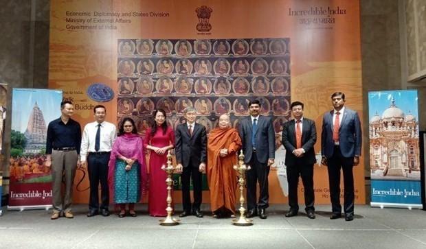 Roadshow popularises Vietnamese tourism in India - ảnh 1