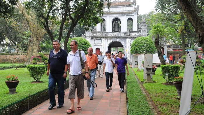 Hanoi receives 14.4 million visitors in H1 2019 - ảnh 1