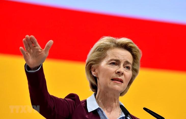 EP to vote on von der Leyen as EC chief on July 16 - ảnh 1