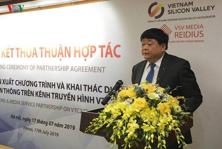 VOV President: VTC2 to become sole startup channel in Vietnam - ảnh 1