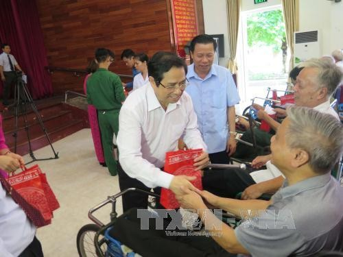 Thuan Thanh Sanatorium serves as second home for  wounded soldiers - ảnh 1