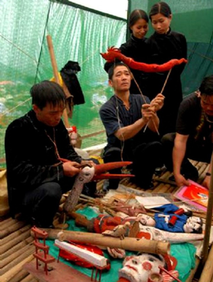 Stick puppetry of the Tay - ảnh 1