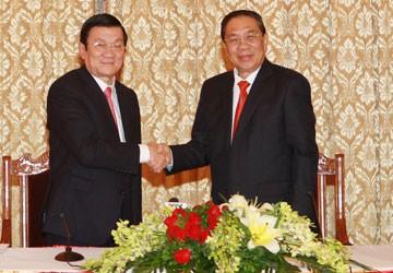 Les relations spéciales Vietnam-Laos  restent à jamais un bien inestimable  - ảnh 2