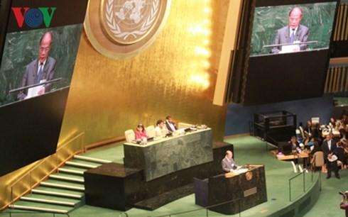 L'Assemblée nationale oeuvre pour le développement durable du monde - ảnh 1