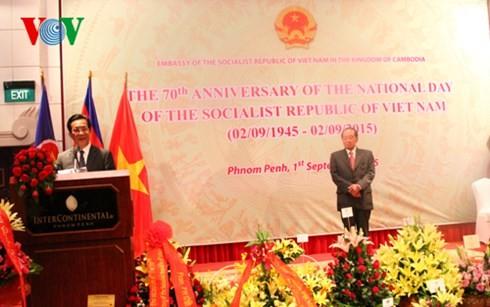 La fête nationale vietnamienne célébrée à l'étranger - ảnh 1