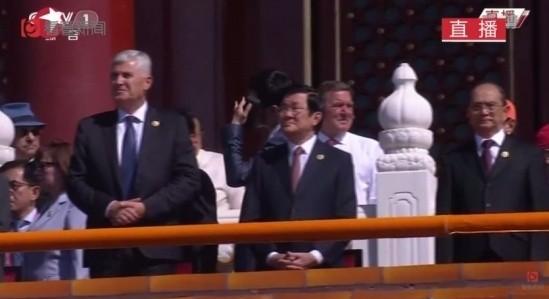Truong Tan Sang participe au 70ème anniversaire de la victoire sur le fascisme - ảnh 1