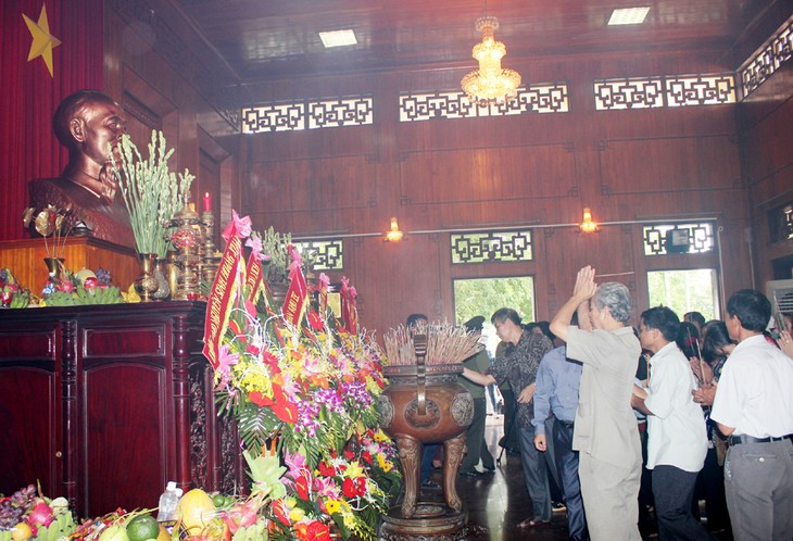 Nghe An organise le 46ème anniversaire du décès de Ho Chi Minh  - ảnh 1