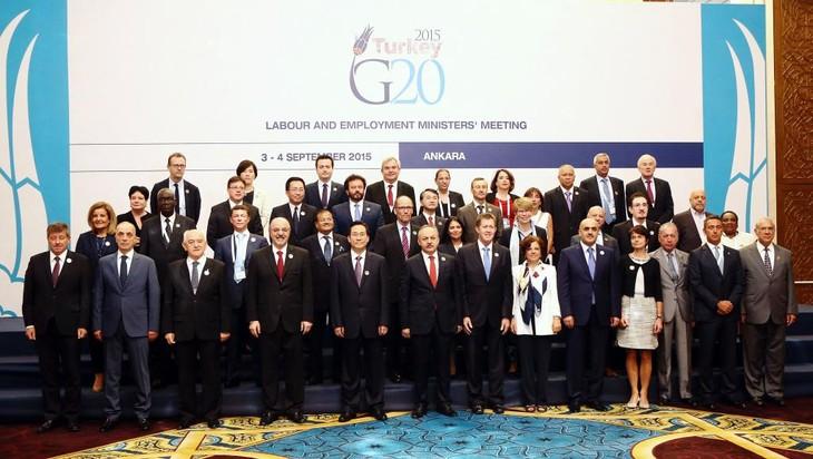 Le G20 discute des mutations de l'économie mondiale - ảnh 1
