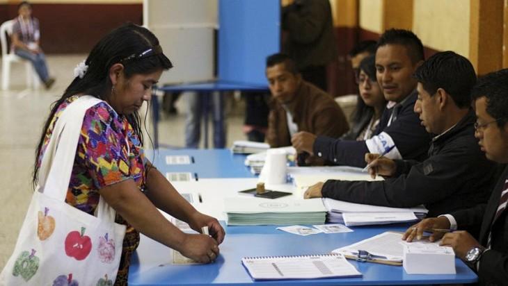 Guatemala: une journée de vote dans un calme tout relatif - ảnh 1