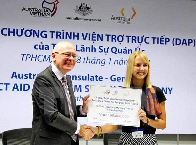 L'Australie démarre le programme d'aide directe au Vietnam - ảnh 1