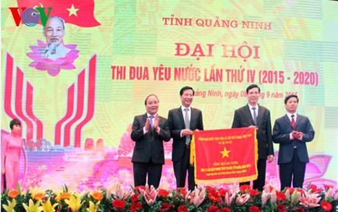 Nguyen Xuan Phuc au 4ème congrès d'émulation patriotique de Quang Ninh - ảnh 1