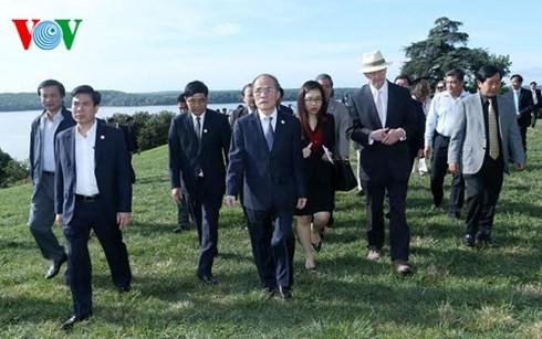 Le président de l'AN Nguyên Sinh Hùng poursuit sa visite aux Etats Unis - ảnh 1