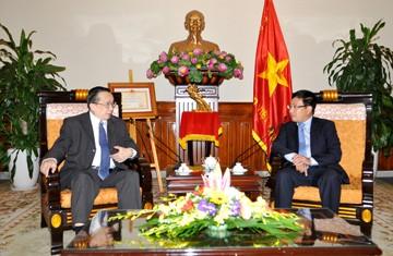 Les hauts officiels vietnamiens et philippins se sont réunis à Hanoï - ảnh 1