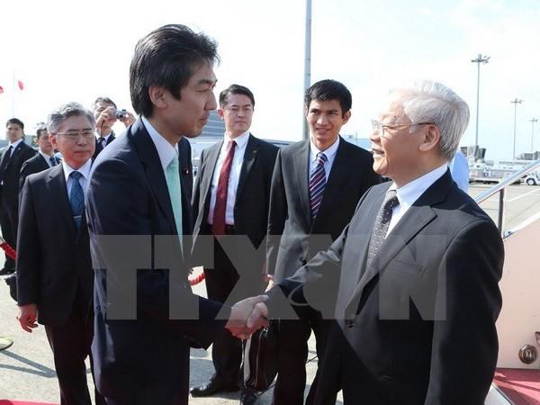 Nguyen Phu Trong au Japon : un jalon important dans les relations bilatérales - ảnh 1