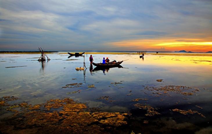 Les marais et lagunes à Hue - ảnh 2