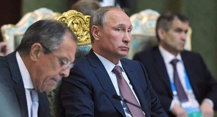 Poutine sollicite le monde entier afin d'anéantir l'EI - ảnh 1