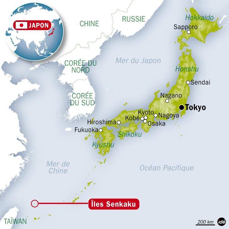 Chine-Japon : nouvelle incursion chinoise dans les eaux des îles Senkaku - ảnh 1