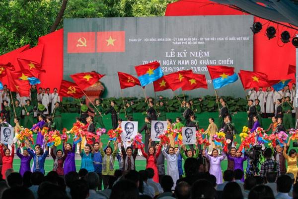 La Journée de la résistance du Sud fêtée à Ho Chi Minh-ville - ảnh 1