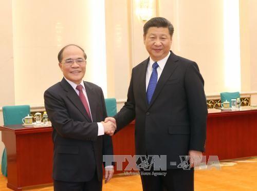 Le président de l'AN Nguyên Sinh Hùng termine sa visite en Chine - ảnh 1