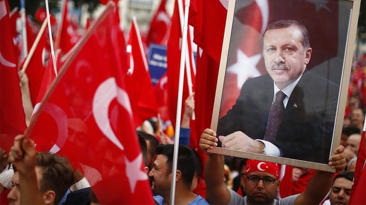 Turquie/UE: Erdogan envisage un référendum - ảnh 1