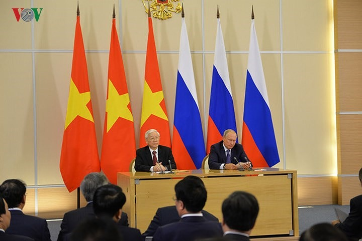 Nguyên Phu Trong remercie Vladimir Poutine - ảnh 1