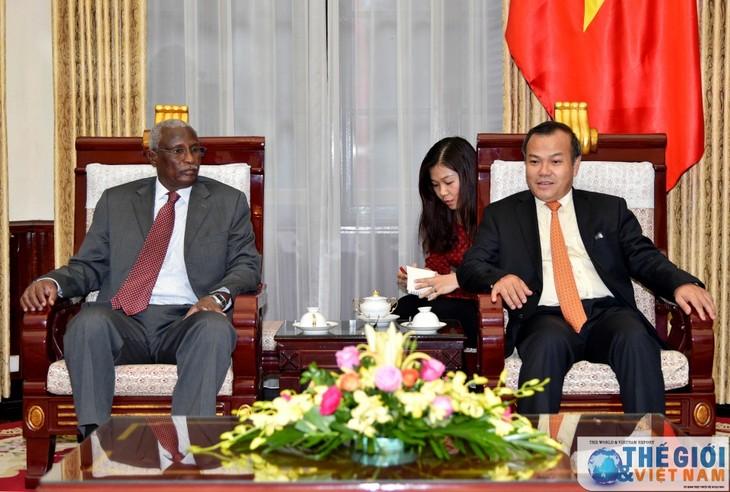 Quelles relations diplomatiques le Vietnam entretient-il avec le Soudan et le Soudan du Sud? - ảnh 1