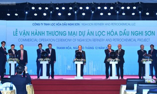 Mise en activité commerciale du complexe de raffinage et de pétrochimie de Nghi Son - ảnh 1