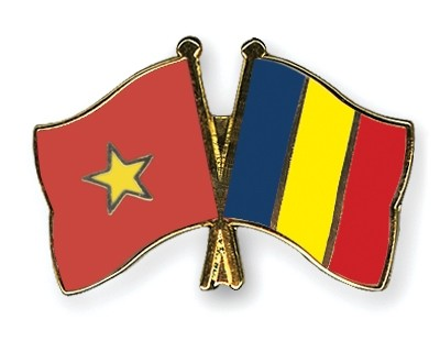 Rumania menyampaikan Bintang Jasa Palang Besar kepada Duta Besar Nguyen Quang Chien - ảnh 1