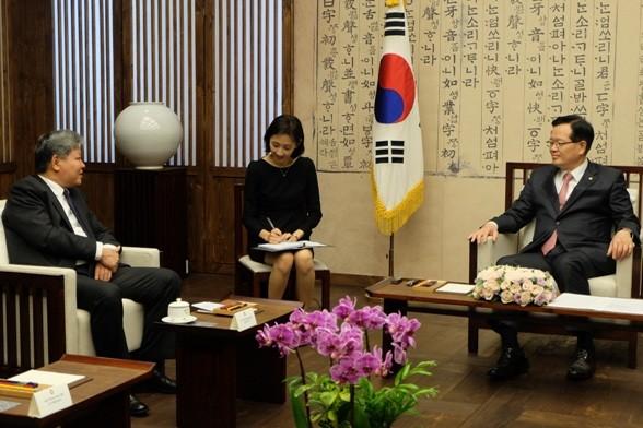 Vietnam dan Republik Korea memperkuat kerjasama hukum - ảnh 1