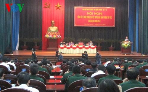 Konferensi evaluasi 5 tahun pekerjaan kedokteran militer dan rakyat daerah Tay Bac - ảnh 1